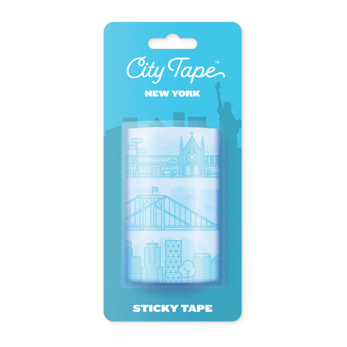 Luckies(ラッキーズ)シティテープ、ニューヨーク City Tape NEW YORK